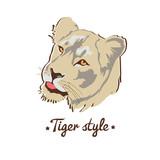 Wild cat portret - 54337965