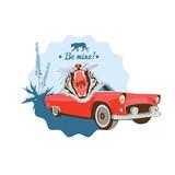 White wild tiger design - 54338140