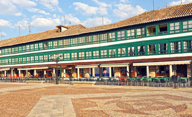 Almagro, Plaza Mayor, Castilla la Mancha, España