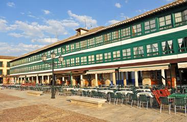 Plaza Mayor de Almagro, Castilla la Mancha, España