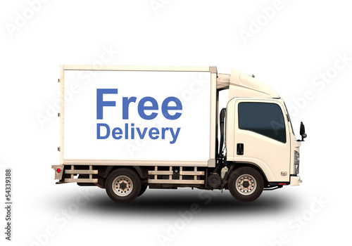 Small truck with Free delivery