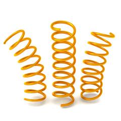 Golden springs 3d