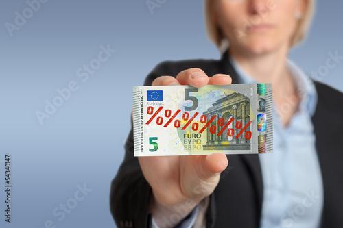 5 Euro Schein - Aktion