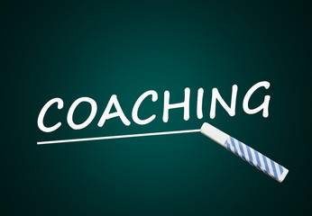 Coaching (training, coach; black board)