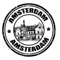 Amterdam stamp