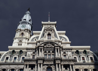 Philadelphia City Hall Thunderstorm