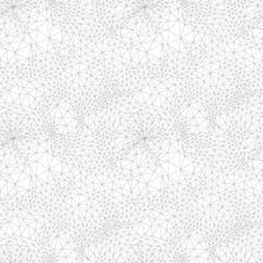 hand drawn abstract seamless molecule texture