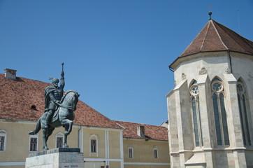 Equestrian monument of Mihail Viteazul, Alba Iulia
