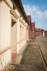 Dorfstrasse in Brandenburg