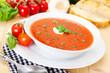 Tomato soup - Tomatensuppe