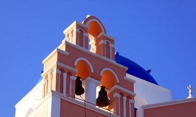 Santorin, île des Cyclades en Grèce