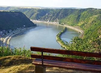 Rhein am Loreley Felsen - Rhine River