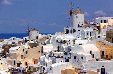 Paysage des Cyclades, îles grecques