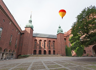 The famous City hall of Stockholm