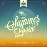 Summer Lovin Typography Background For Summer - 54352913