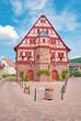 Historisches Rathaus von Großheubach im Maintal