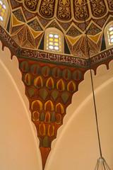 An interior view of Green Mosque. Bursa, Turkey