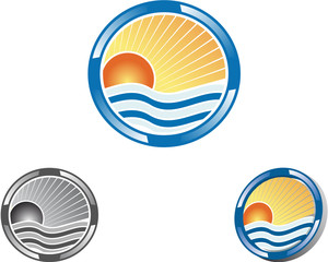 Holidays set icons 2