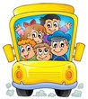 Image with school bus theme 1