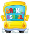 Image with school bus theme 3