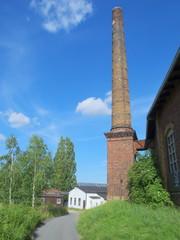 Fabrik Bahngebiet