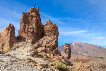 Teide National Park. Tenerife. Canary Islands