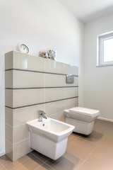 Bright space - water closet