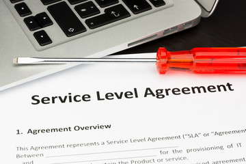 Service Level Agreement Contract