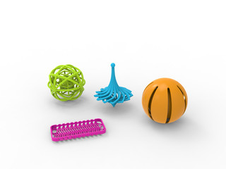 3D printing products / 3D printables / 3D print / in color