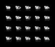 Folder Icons - Set 2 -- Silver Series