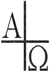 Alpha Omega Icon Image