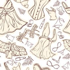 delicate woman underwear seamless texture