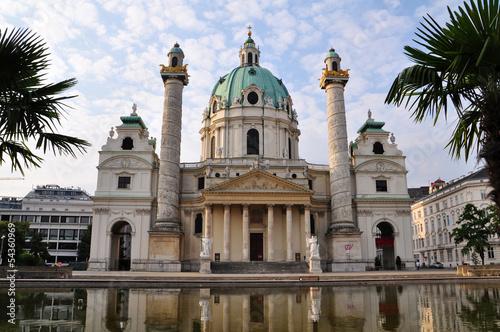 Karlskirche in Wien, Österreich