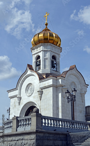Facade of Preobrazhenskaya church
