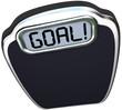 Goal Word Scale Weight Loss Target Lightweight