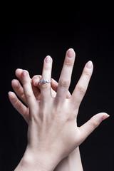 Female Hand Engagement