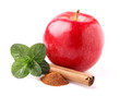 Apple with spices