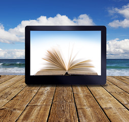 ebook am Meer