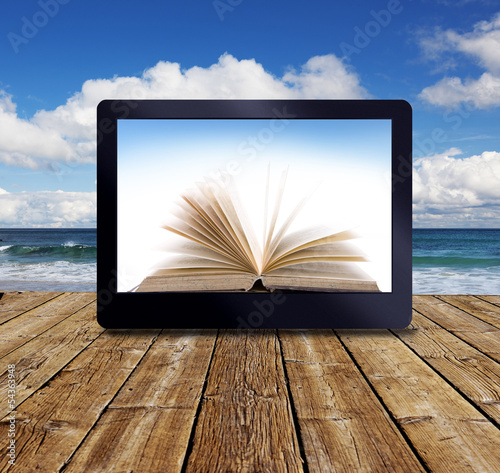 ebook am Meer