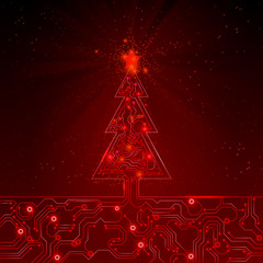 Christmas abstract background. Vector illustration. EPS 10.
