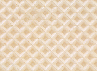 Closeup of wafer background texture.
