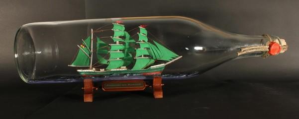 Buddelschiff Alexander von Humboldt 3 Liter Flasche