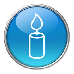 Bottone vetro candela
