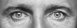Panorama of men's eyes - 54366971