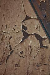 damaged surface