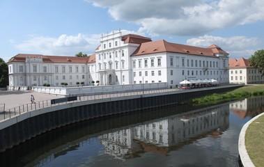 Blick zum Schloss Oranienburg bie Berlin