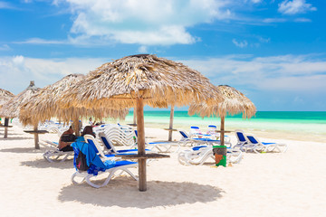 Resort on the beach of Coco Key  in Cuba