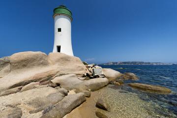Palau Lighthouse in Sardinia, Italy
