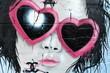 Fototapete Lieblich - Schauspielern - Graffiti