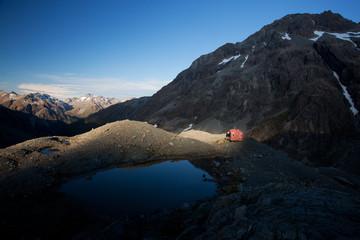 Great alpine scenery